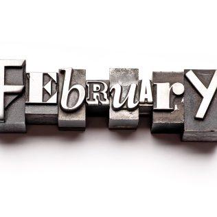 February at Avon