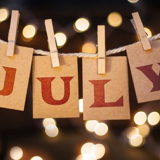 July at Avon